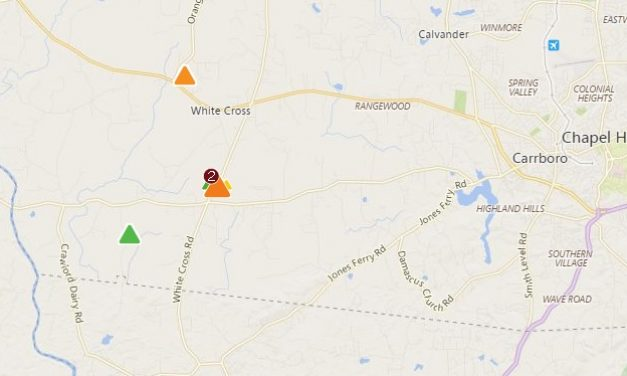 Nearly 2,000 Duke Energy Customers Without Power in Western Orange County