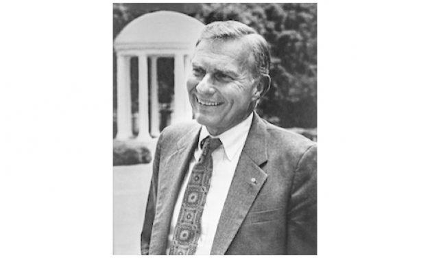 Former UNC Chancellor Paul Hardin Dies at 86